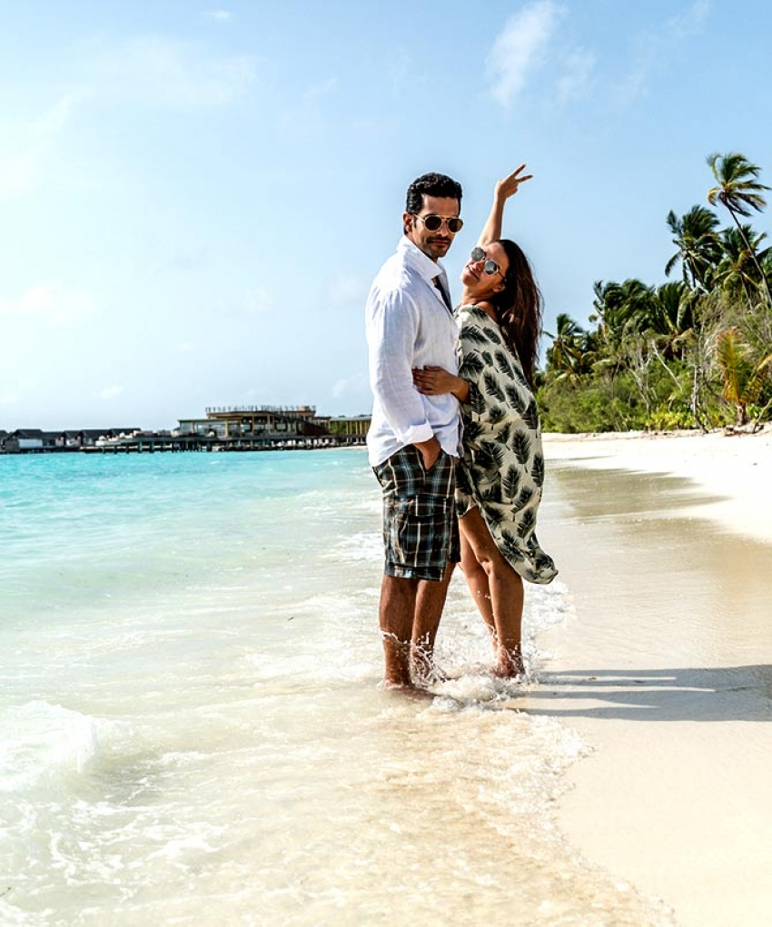 Neha Dhupia & Angad Bedi's dreamy honeymoon Photos