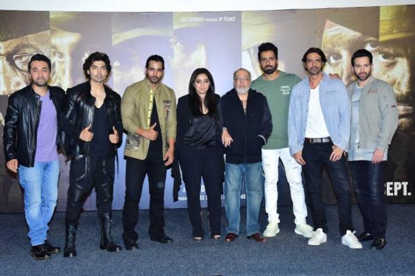 Paltan Movie Treaser Launch Photos