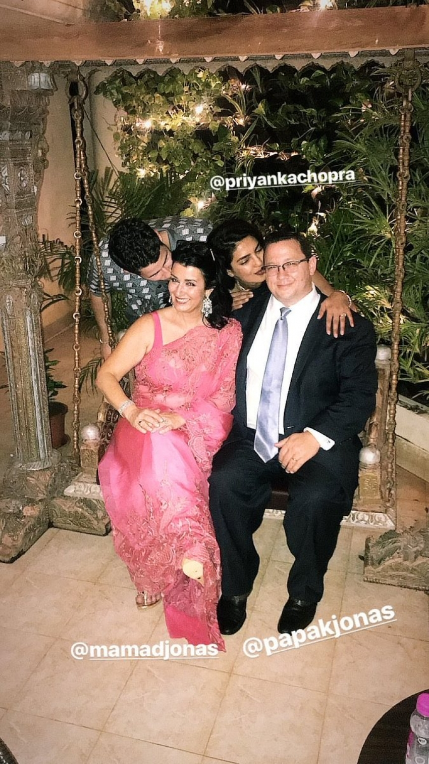 Priyanka Chopra And Nick Jonas Engagement Party Photos