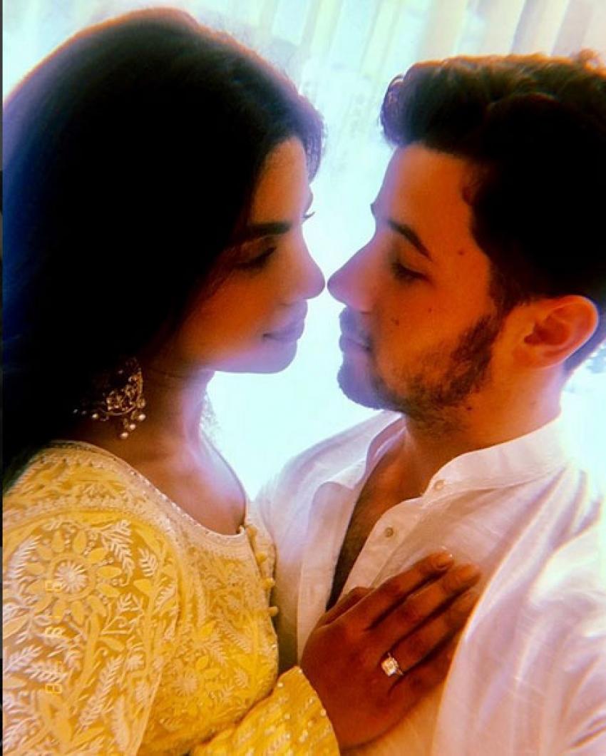 Priyanka Chopra And Nick Jonas Engagement Photos