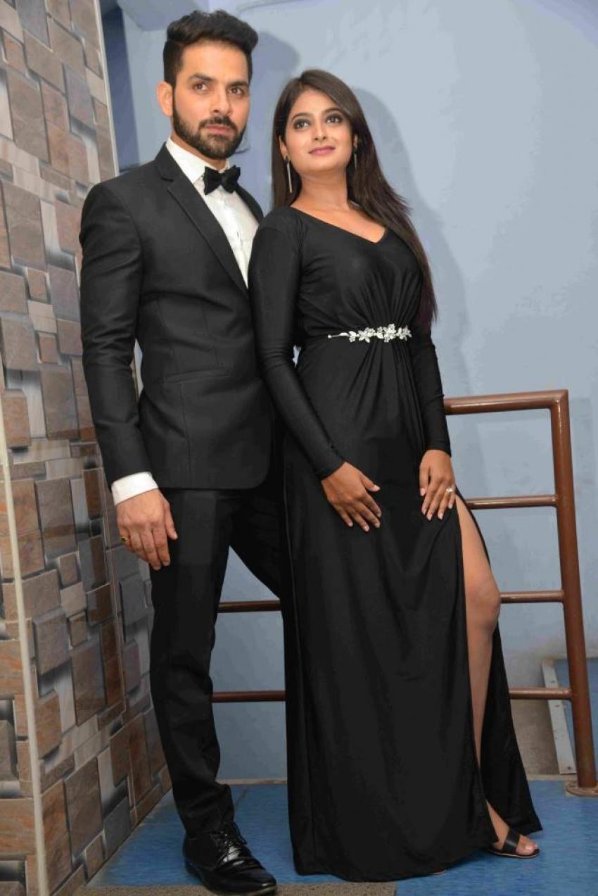Raju James Bond Movie Pooja And Press Meet Photos