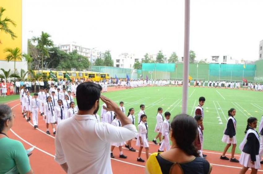 Ram Charan Celebrates 71st Independence Day Photos