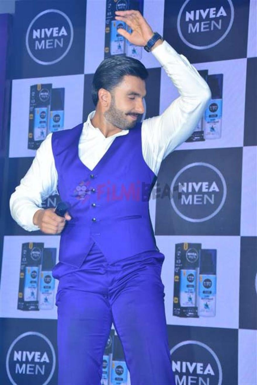 Ranveer Singh Announced As New Face Of NIVEA Men Photos