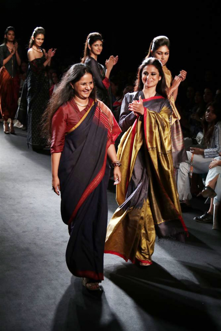 Rasika Dugal Walks The Ramp At Lakme Fashion Week 2018 Photos