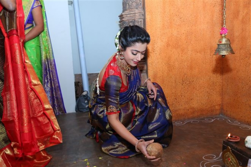 Rashmika Mandanna Launch Mugdha At 36 Jubliee Hills Photos