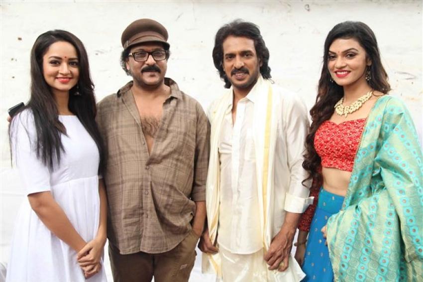 Ravichandra Film Launch Press Meet Photos