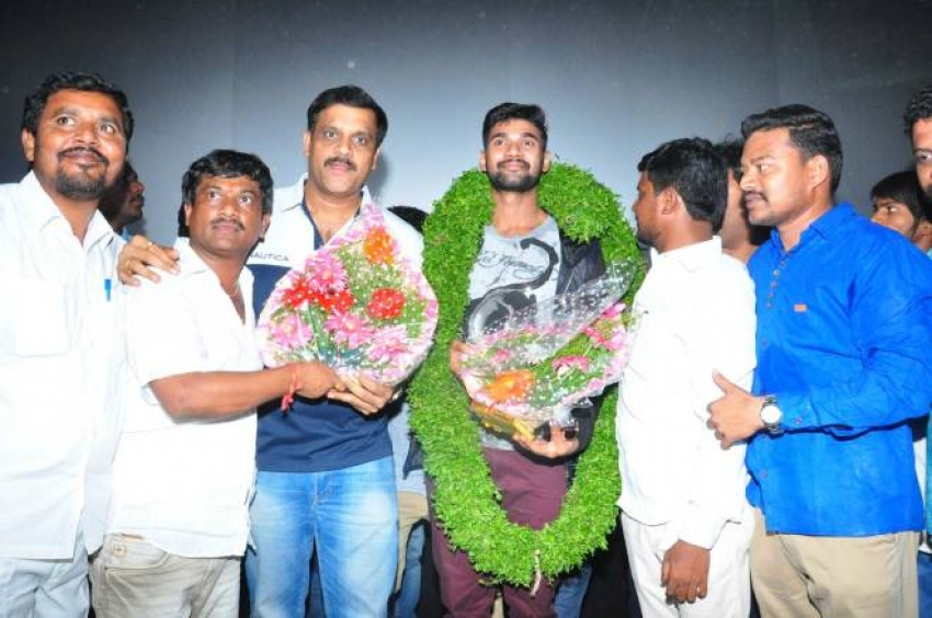 Saakshyam Movie Success Tour Photos