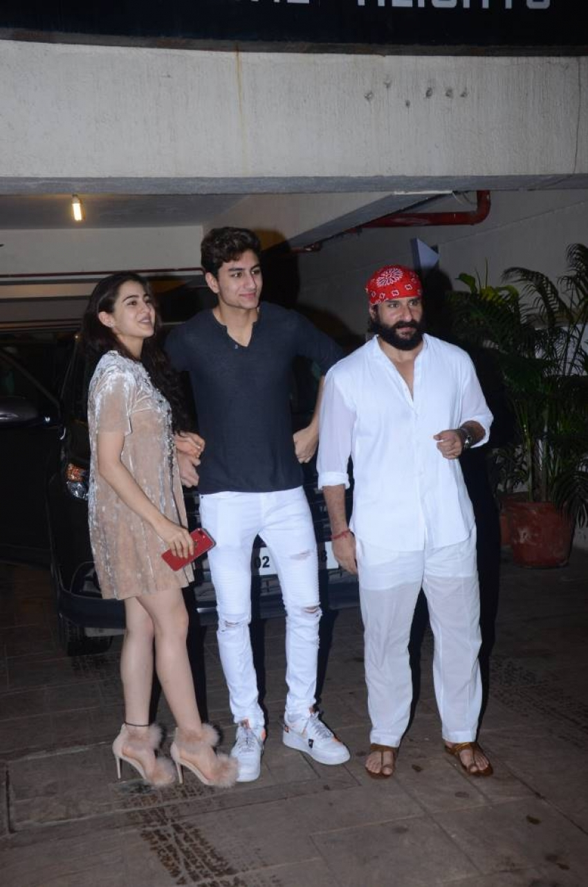 Saif Ali Khan Birthday Bash In Bandra Photos
