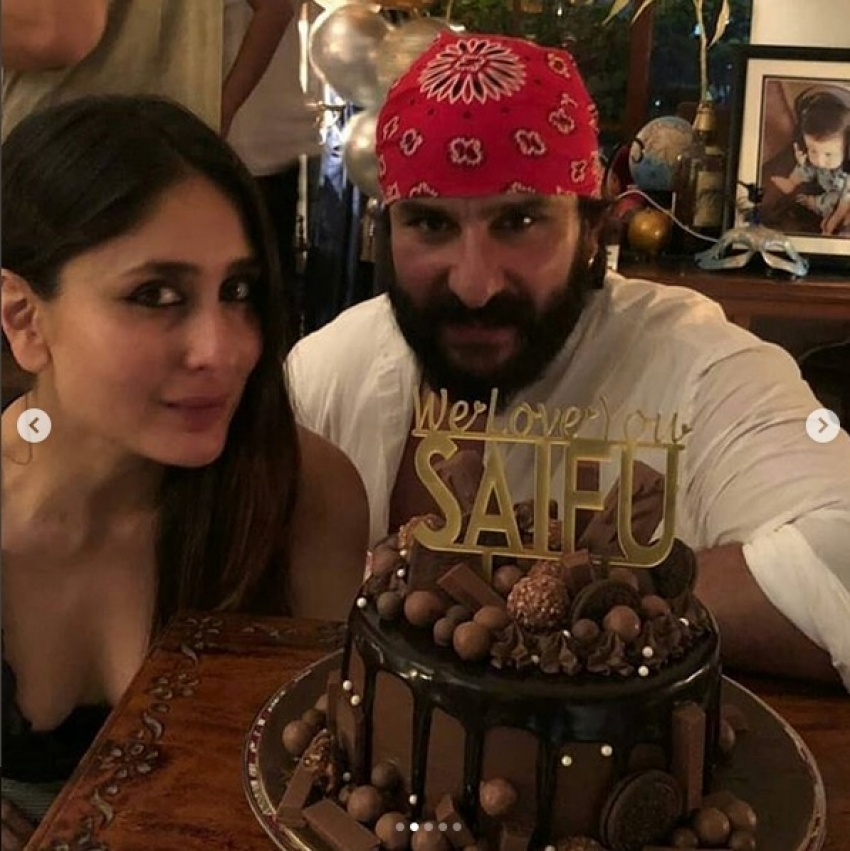 Saif Ali Khan's 48th Birthday Bash Photos