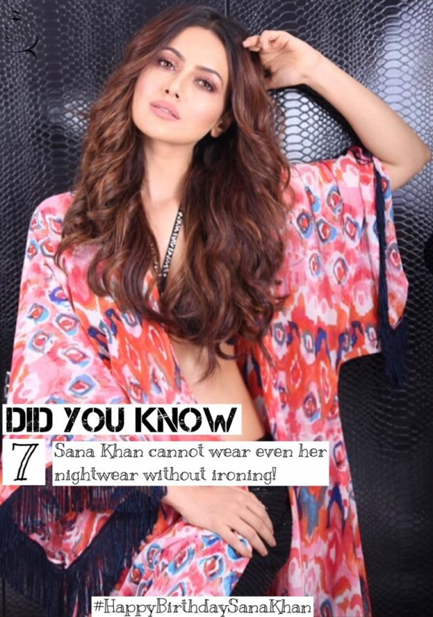 Sana Khan Birthday Special Unknow Facts Photos
