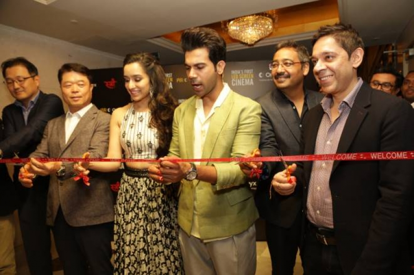 Shraddha Kapoor And Raj Kumar Rao Promotes Stree Photos