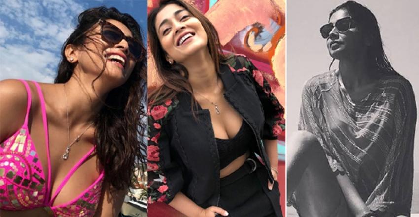 Shriya Saran Glam Latest 2018 Photoshoot Photos