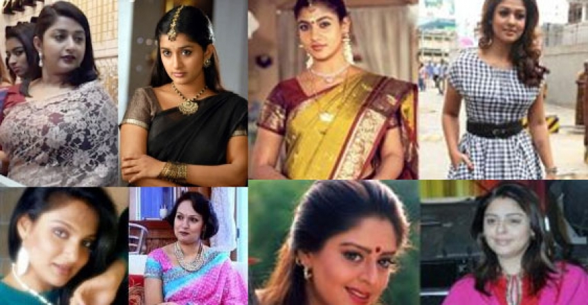 South Indian Actresses: Then And Now Photos