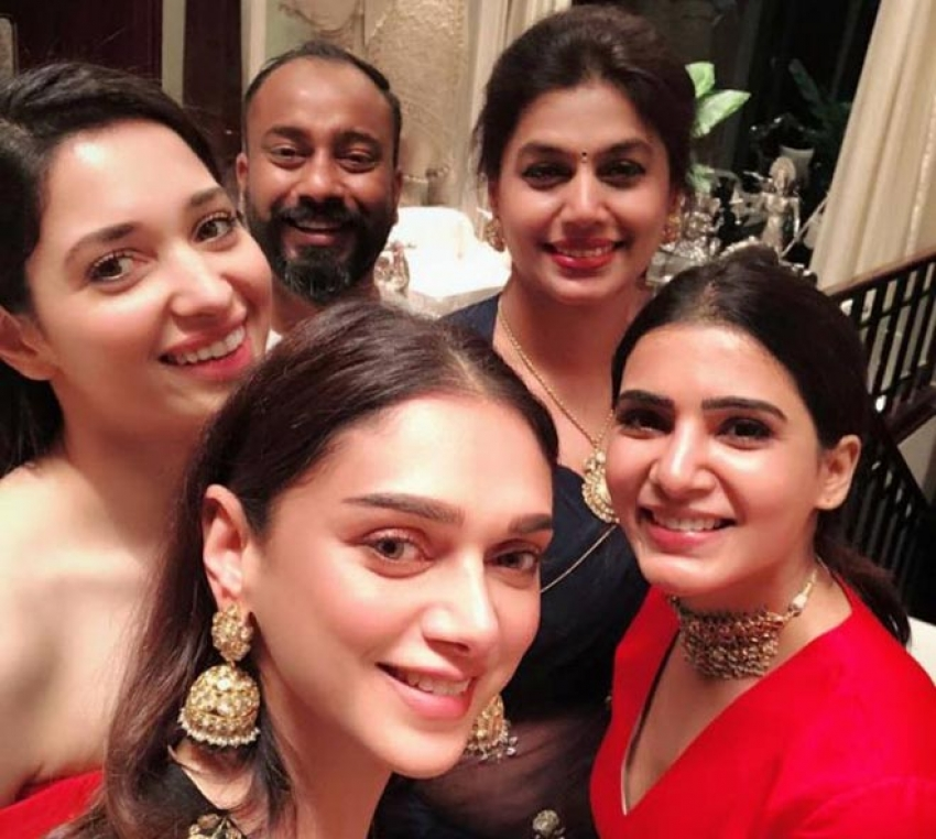 Stars At Pinky Reddy's Private Party Photos