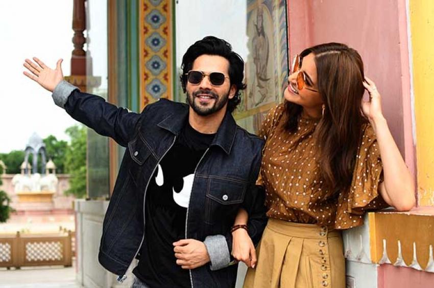 Sui Dhaaga Movie Promotion In Jaipur Photos
