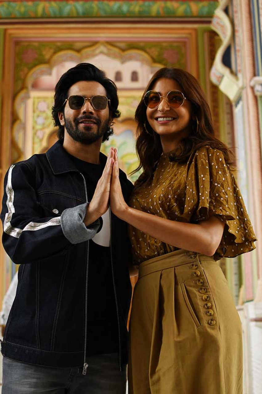 Sui Dhaaga Movie Promotion In Jaipur Photos