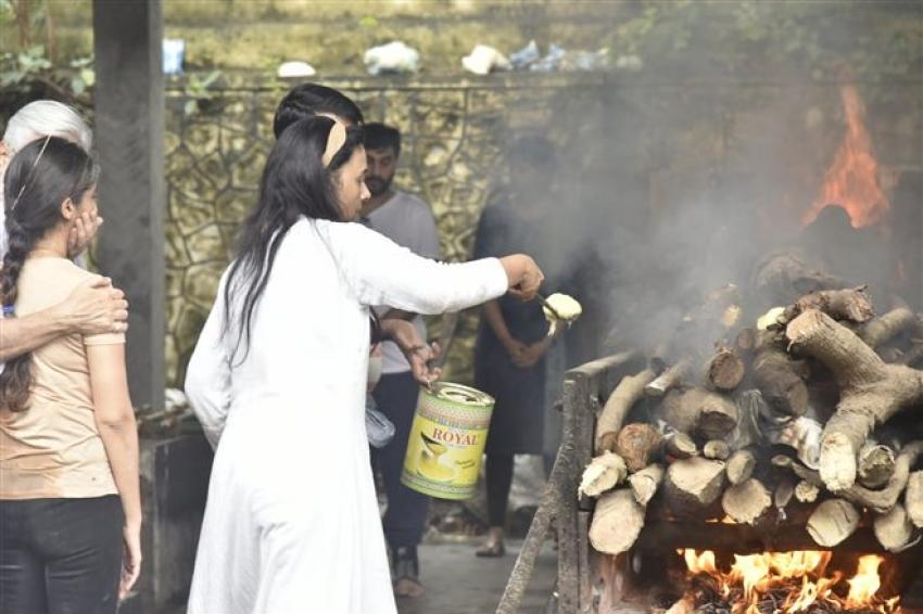 Sujata Kumar Funeral Photos