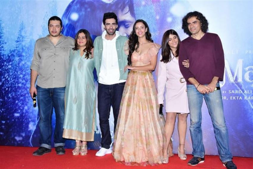 Trailer Launch Of Laila Majnu Photos