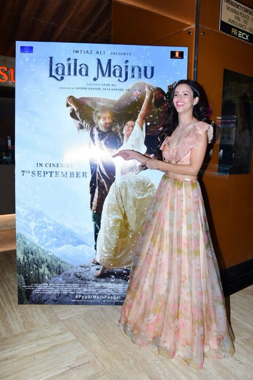 Trailer Launch Of Laila Majnu Photos