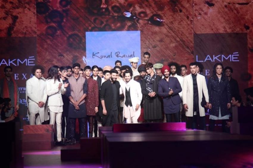 Varun Dhawan walks the Ramp at Lakme Fashion Week 2018 Photos
