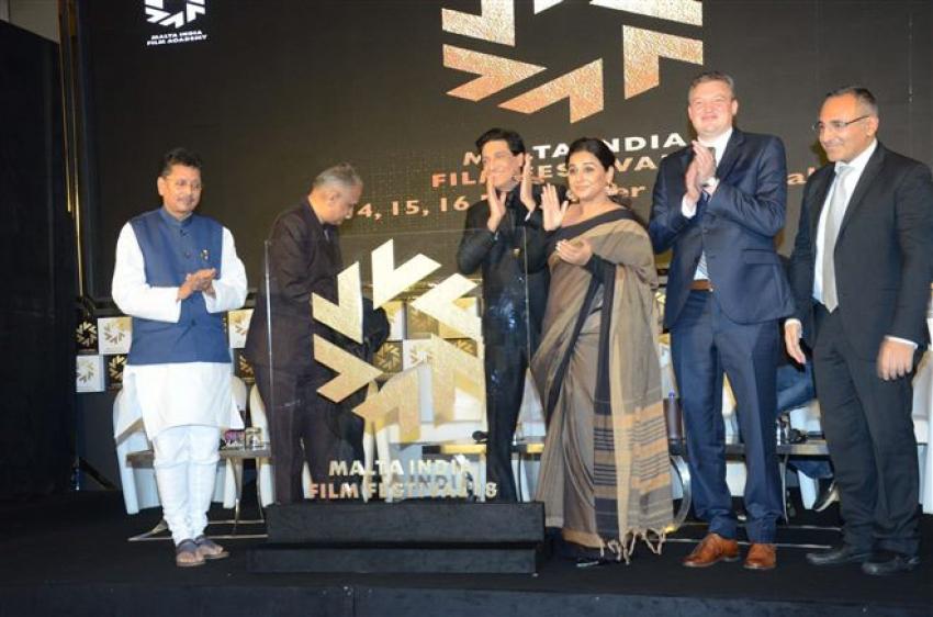 Vidya Balan At Malta Indian Festival 2018 Photos