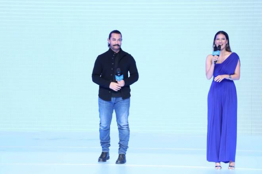 Aamir Khan As Vivo Brand Ammbasador Photos