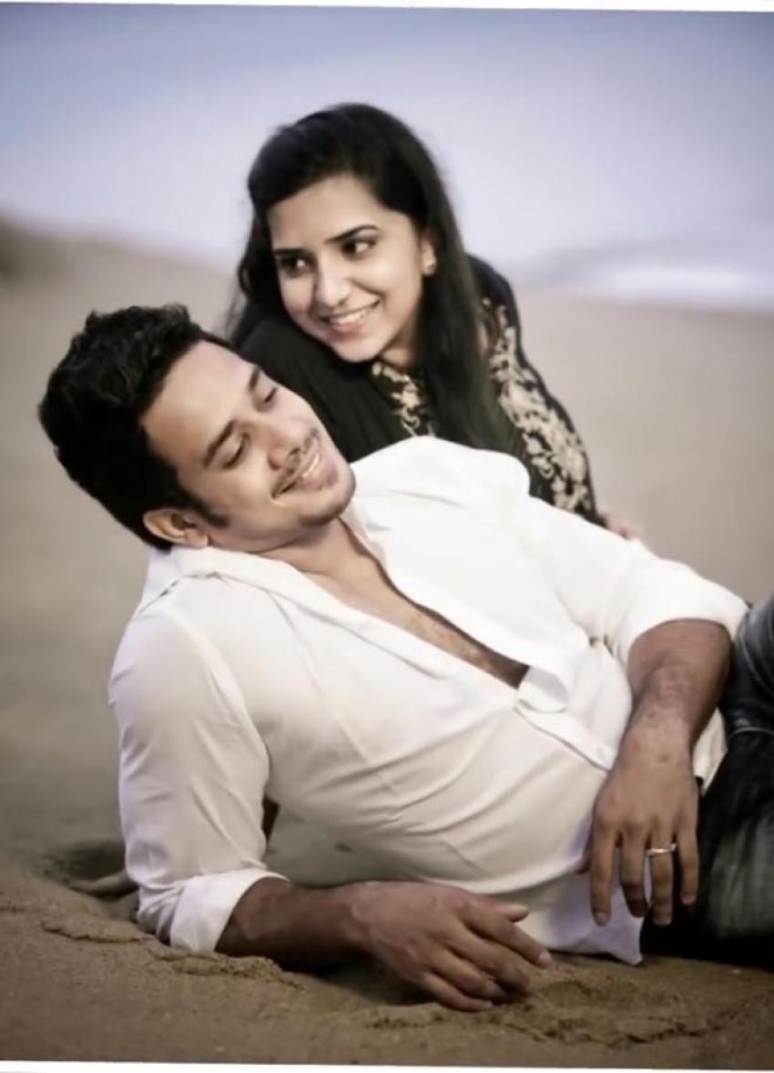 Actor Bharath Family Photos