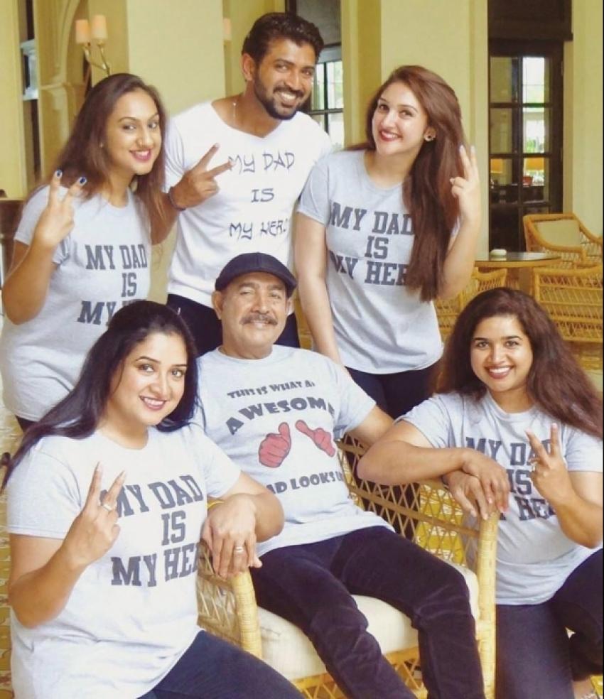 Actor Vijayakumar Family Photos