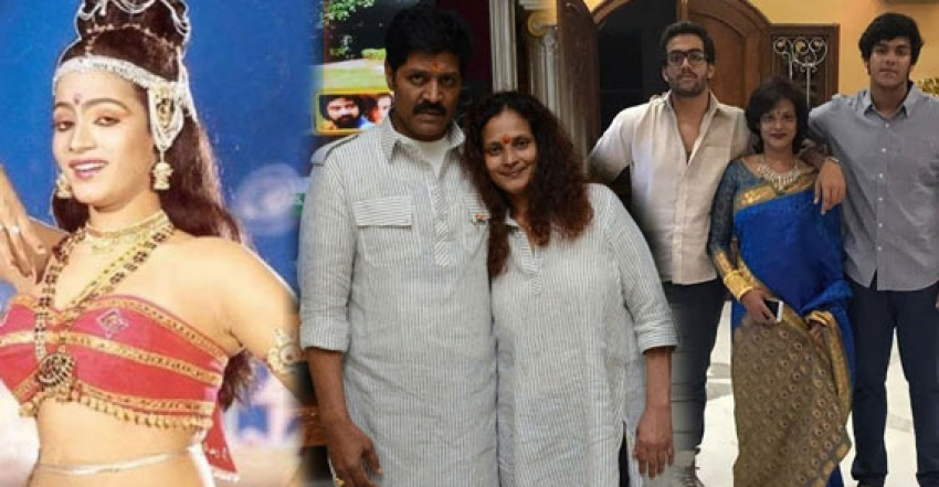 Actress Disco Shanti Family Photos