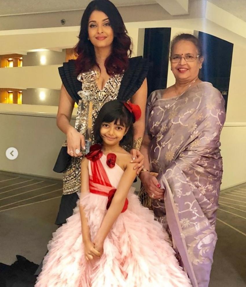Aishwarya Rai Bacchan At Wrift Awards 2018 Photos