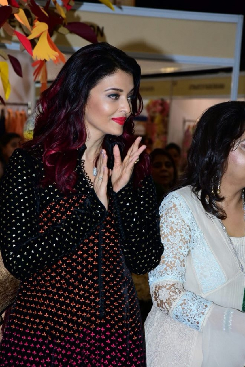Aishwarya Rai Bachchan At ICM Women Event In Mumbai Photos