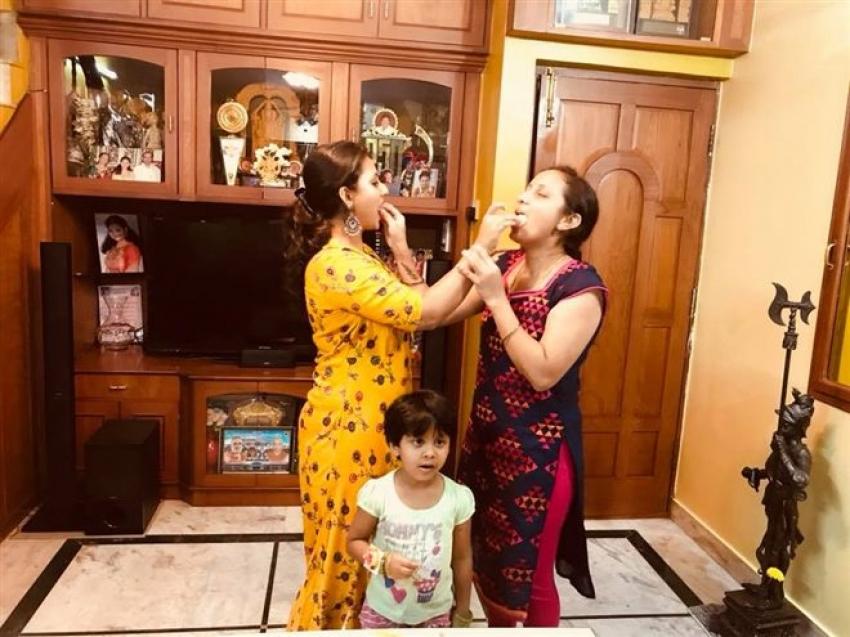 Amulya Birthday Celebration 2018 Photos