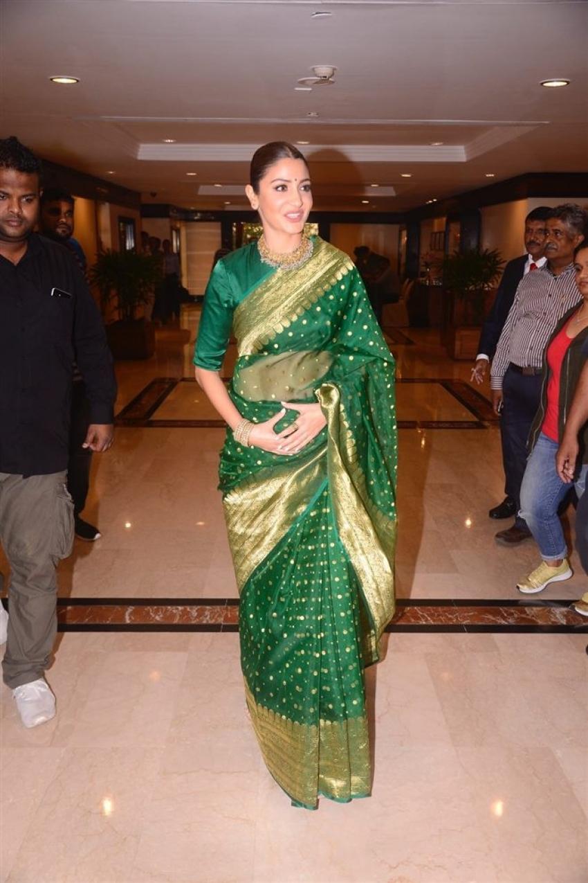 Anushka Sharma Felicitated at the 34th Priyadarshini Academy Global Awards Photos