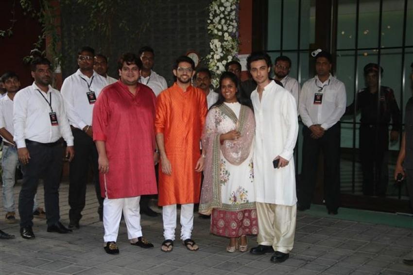 Arpita Khan's Ganesh Chaturthi Celebrations 2018 Photos