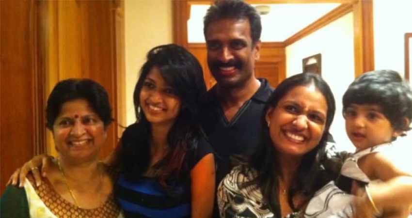Arun Pandian Unseen Family Photos