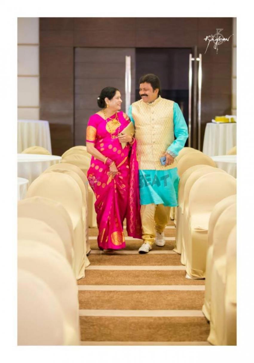 B C Patil Daughter Srushti Patil Engagement Photos