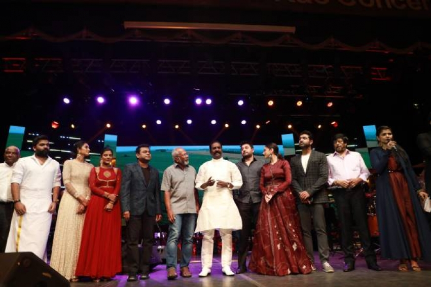 Chekka Chivantha Vaanam Audio Launch Photos
