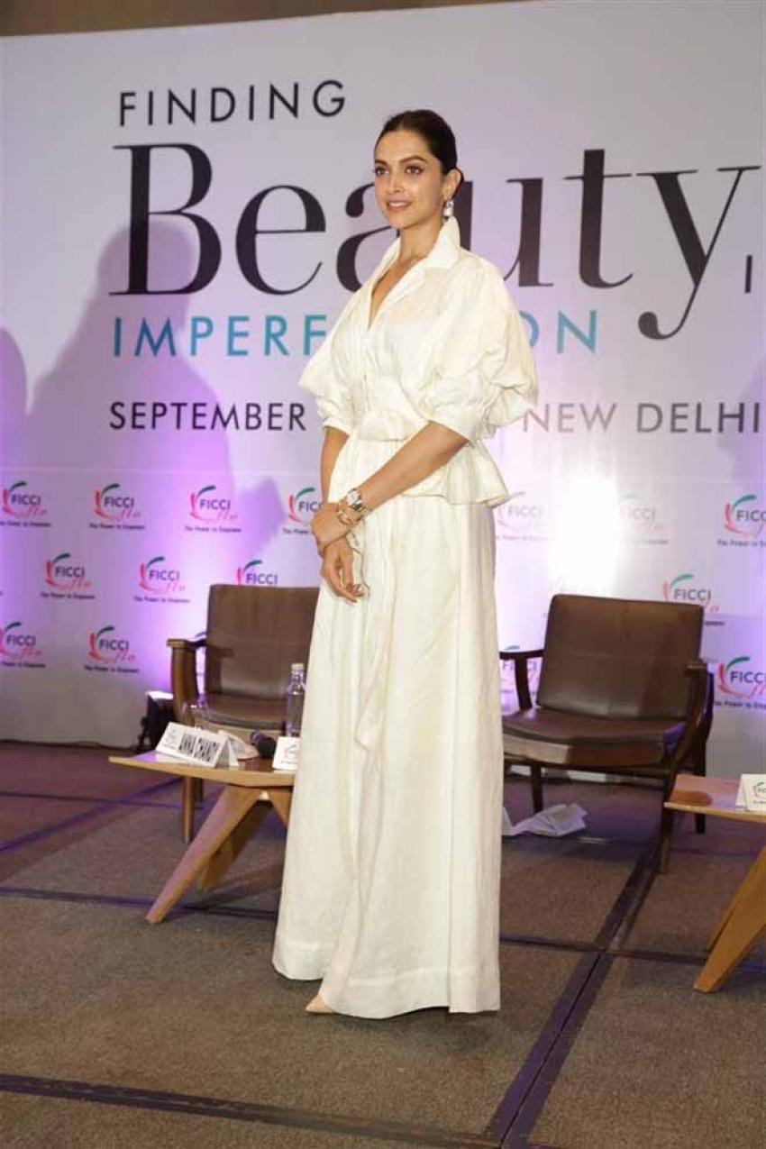 Deepika Padukone Attends FICCI Flo Event In New Delhi Photos