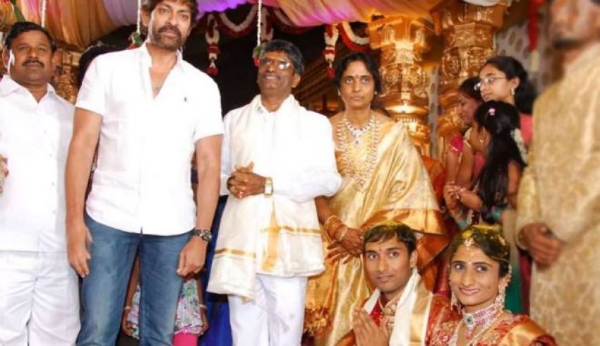 Jagapati Babu Family Unseen Photos
