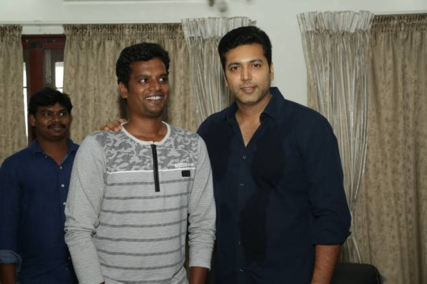 Jayam Ravi 38th Birth Day Celebrations Photos