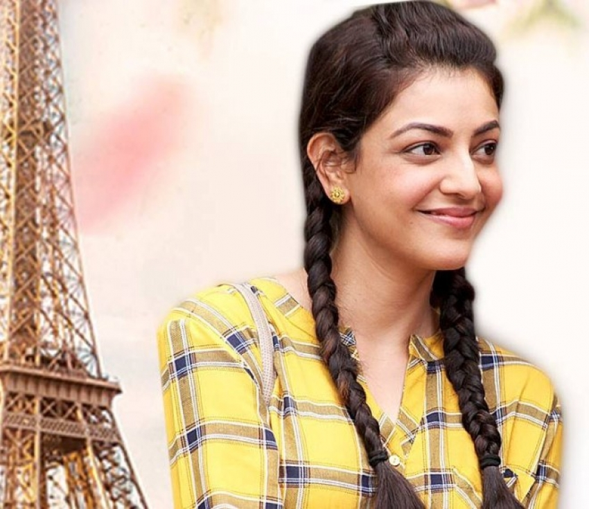 Kajal Aggarwal's Paris Paris Movie Behind The scence Photos