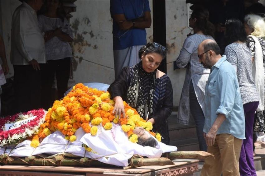 Kalapana Lajmi Funeral Photos