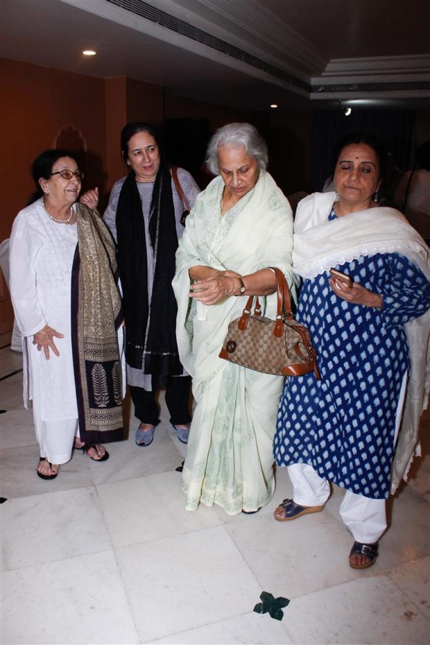 Kalpana Lajmi Prayer Meeting Photos