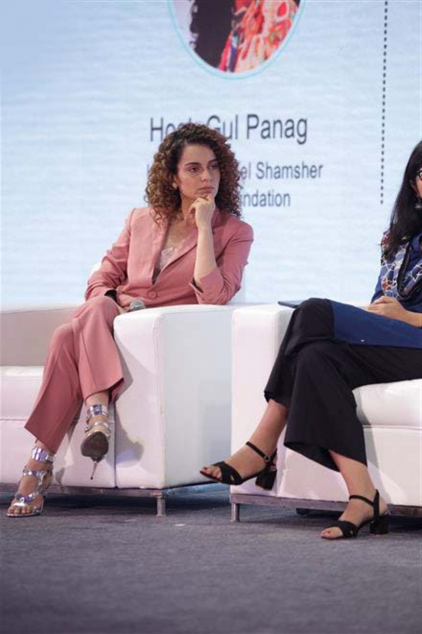 Kangana Ranaut Attends XIN Philanthropy Conference In New Delhi Photos