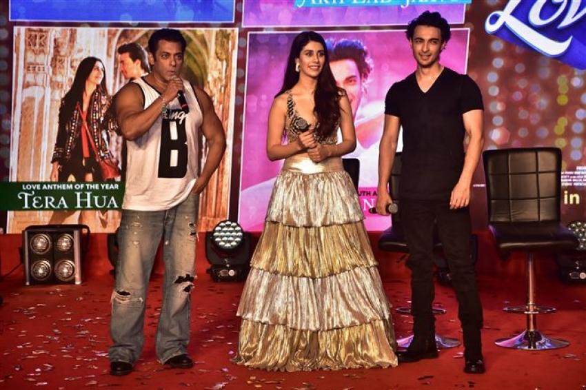 Loveyatri Movie Music Concert In Mumbai Photos