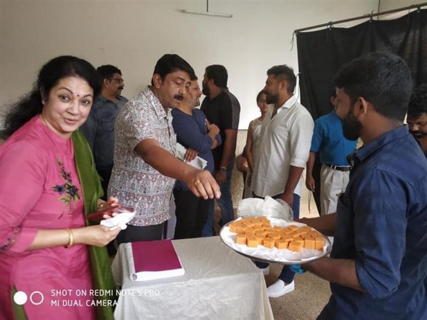Mikhayel Movie Pooja Photos