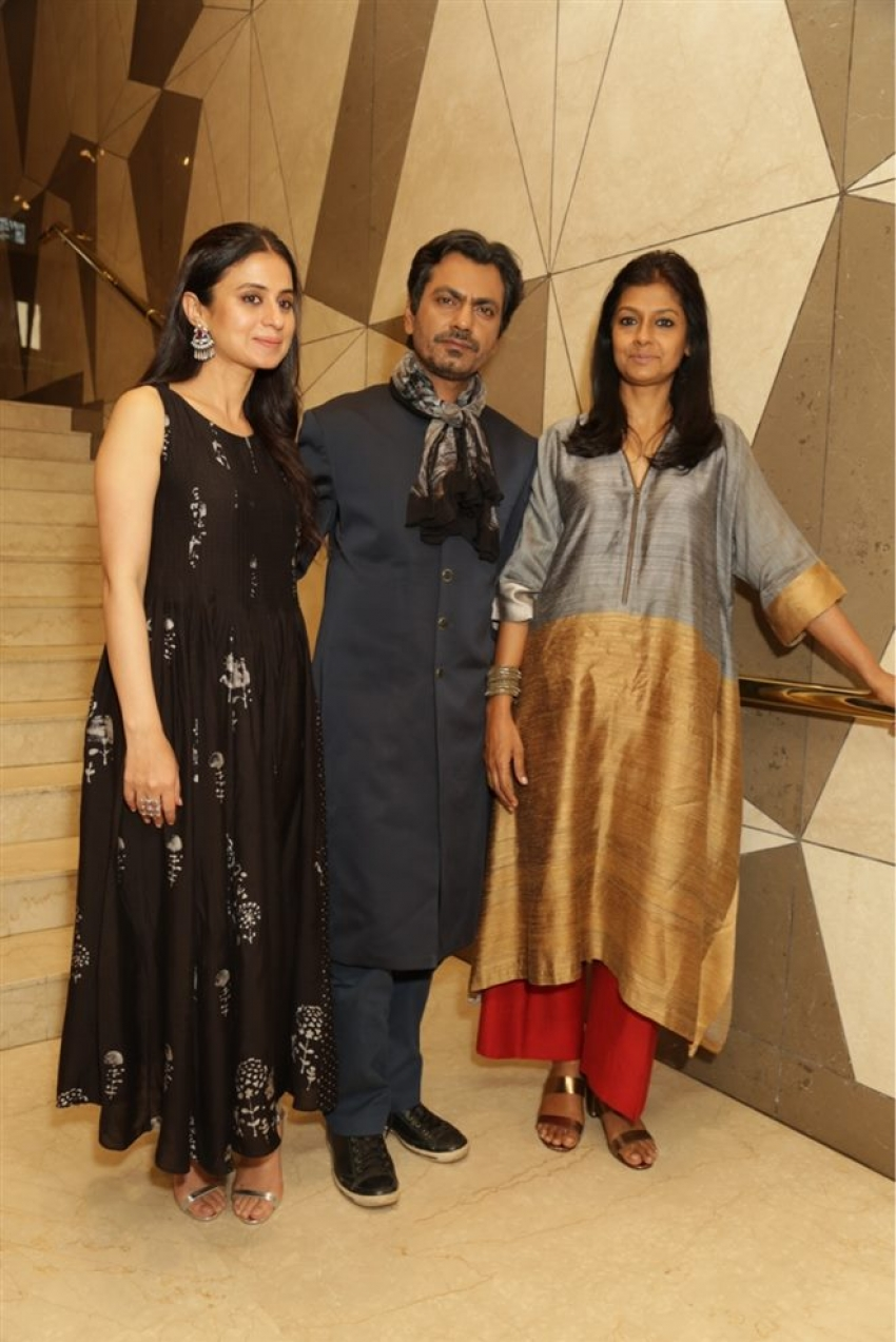 Nawazuddin Siddiqui And Nandita Das During Photoshoot And Press Conference Of Manto Photos