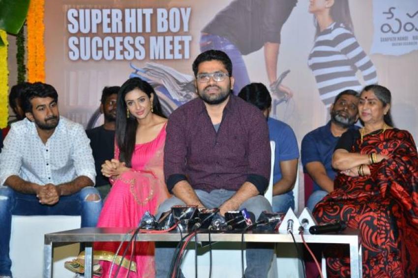 Paper Boy Movie Success Meet Photos