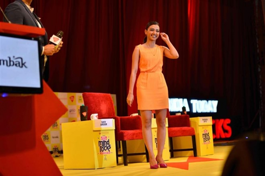 Radhika Apte Attends India Today Mind Rocks Youth Summit Photos