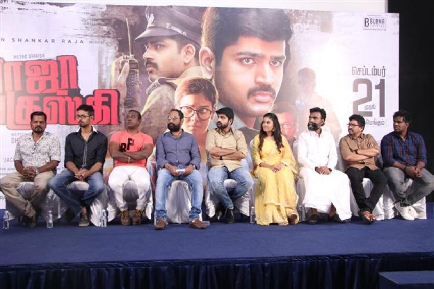 Raja Ranguski Movie Press Meet Photos